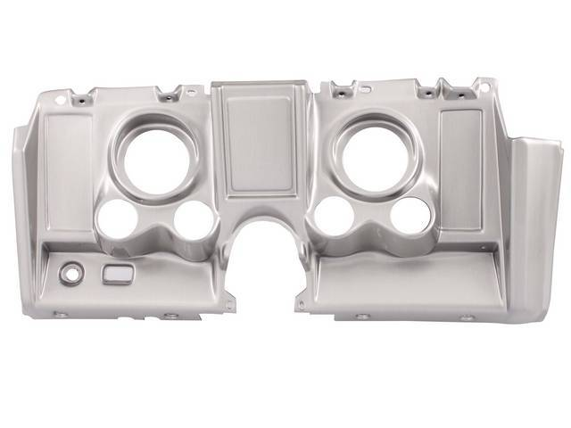 Housing Instrument Carrier Custom Gauge Panel W/ Brushed