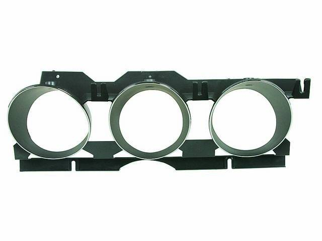 ADAPTER / BEZEL, Instrument Cluster, chrome plated, repro