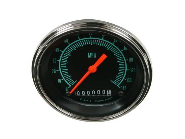 Gauge Speedometer Classic Instruments G-Stock Series Oe Appearance