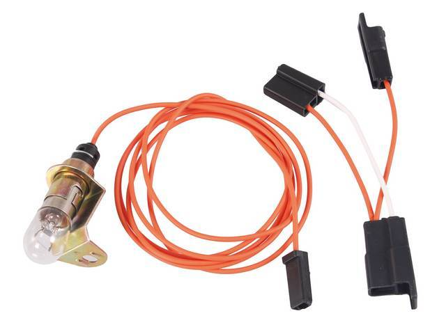 LIGHT ASSY AND EXTENSION WIRE, Trunk, incl lead