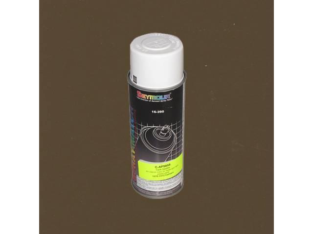 Interior Paint, Acrylic Lacquer, Dark Saddle, 12 Fluid