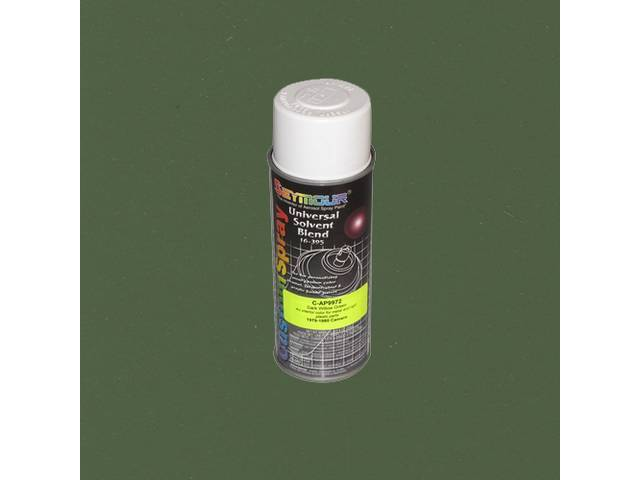 INTERIOR PAINT, ACRYLIC LACQUER, DARK WILLOW GREEN, 12