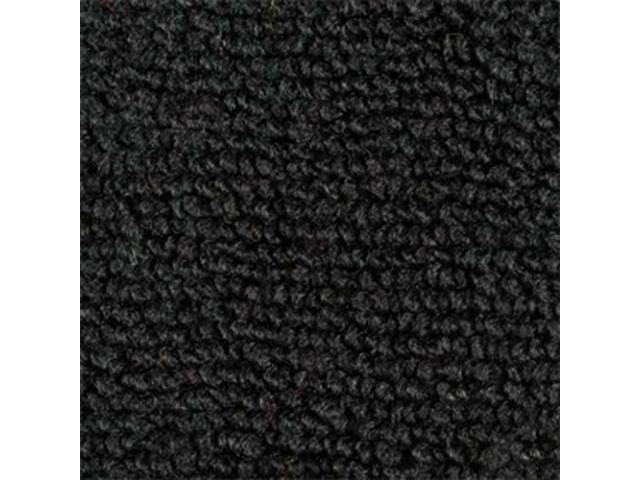 Carpet Raylon Loop Style Two Piece Black A/T