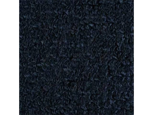 Carpet Raylon Loop Style Two Piece Dark Blue