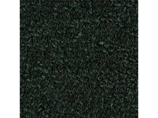 Carpet Raylon Loop Style Two Piece Dark Green