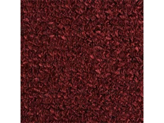 Carpet Raylon Loop Style Two Piece Maroon M/T
