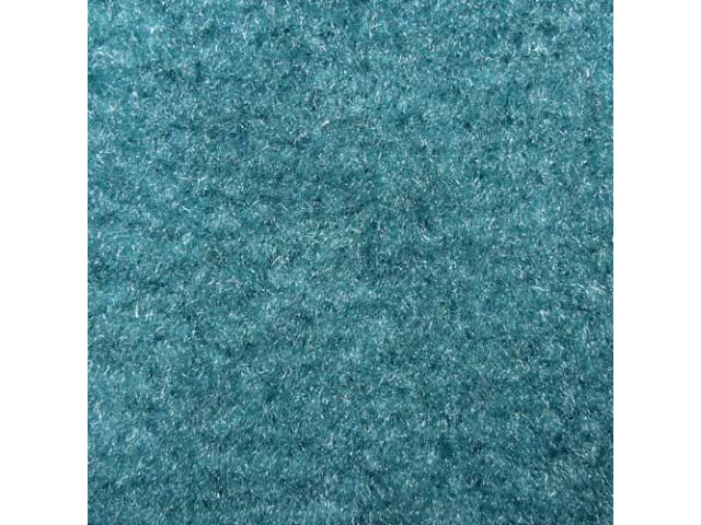 Carpet Cut Pile Two Piece Turquoise A/T Rear