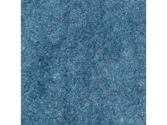 Carpet Cut Pile One Piece Medium Blue W/