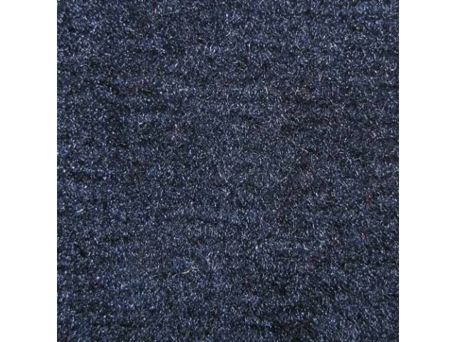 Carpet Cut Pile One Piece Dark Blue W/O