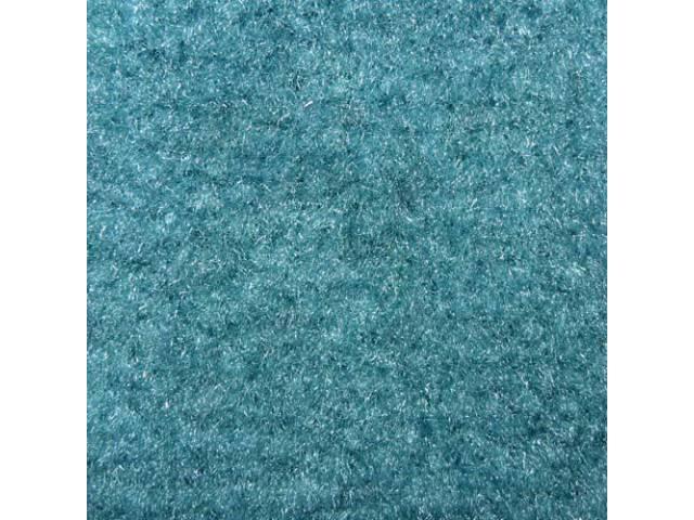 Carpet Cut Pile One Piece Turquoise W/ Console