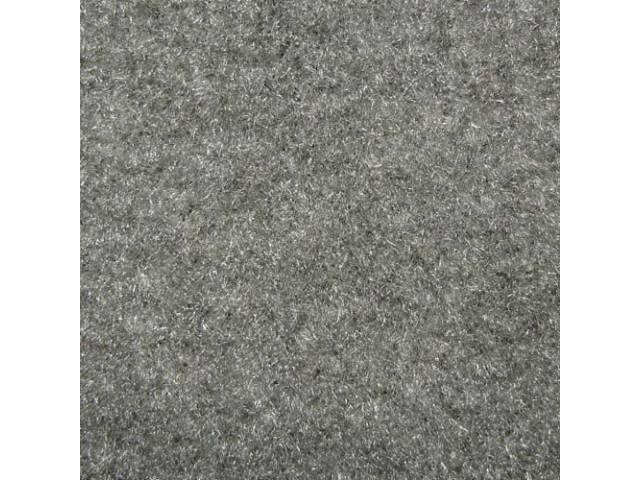 Carpet Cut Pile One Piece Medium Light Gray