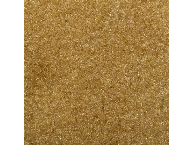CARPET, Molded, Cut Pile, 1-piece, Light Sandstone /