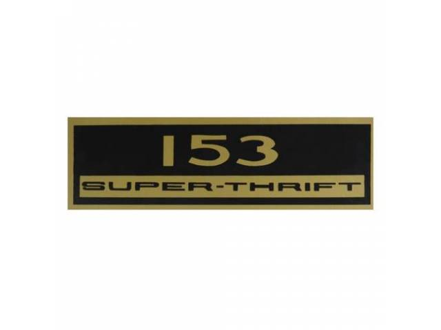 Decal Valve Cover 153 Super Thrift