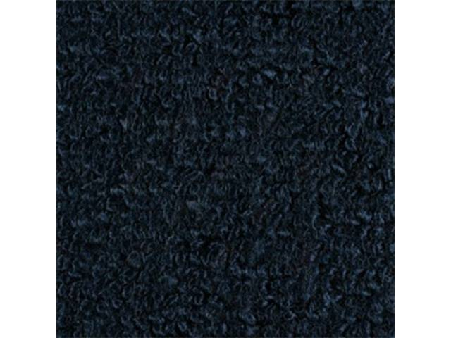 Carpet Fold Down Raylon Loop Style Dark Blue
