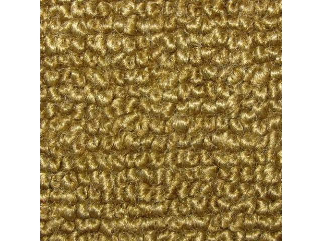 Carpet Fold Down Raylon Loop Style Gold