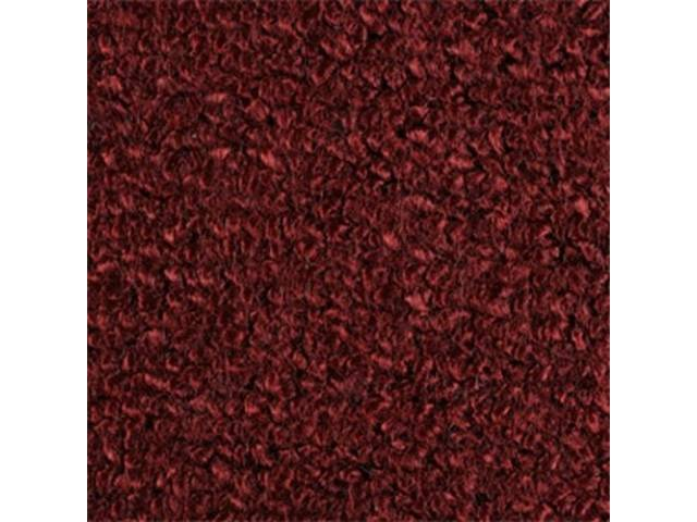 Carpet Fold Down Raylon Loop Style Maroon