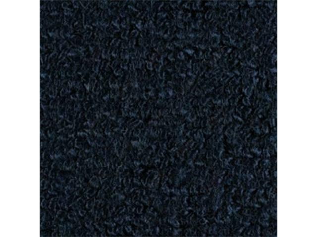 Carpet Fold Down Raylon Loop Style Dark Blue