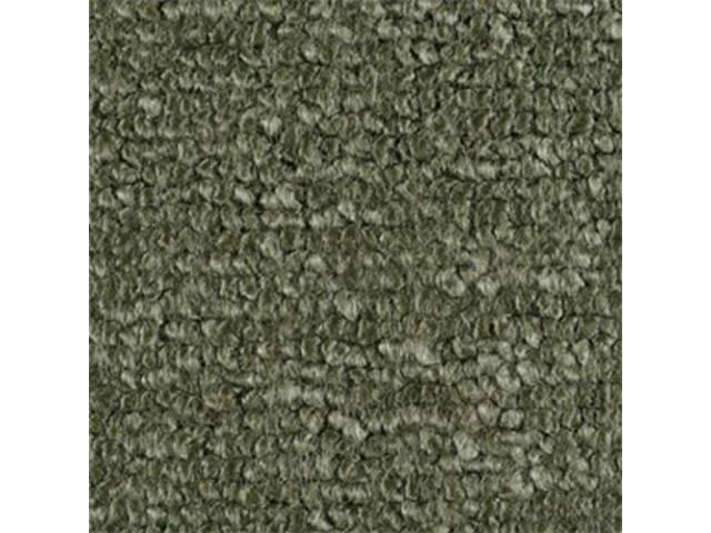 Carpet Fold Down Raylon Loop Style Medium Green