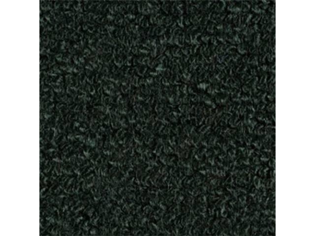 Carpet Fold Down Raylon Loop Style Dark Green