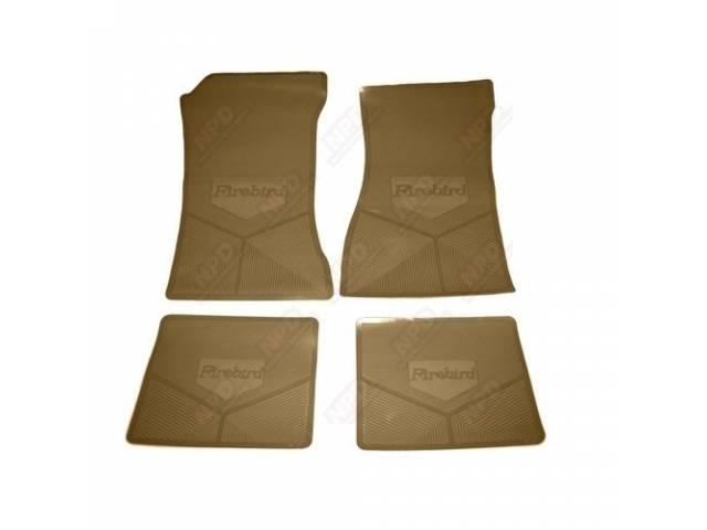 Floor Mat Set Rubber Custom Logo Features The