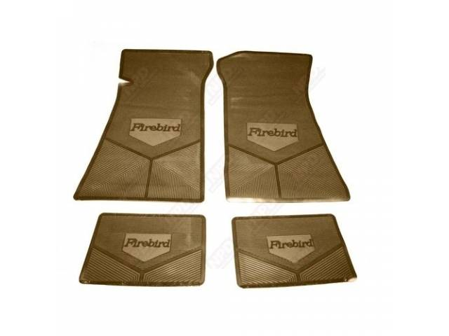 Floor Mat Set Rubber Custom Logo Features The