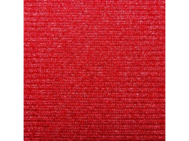 Headliner Cloth W/ Foam Backing Bright Red Repro