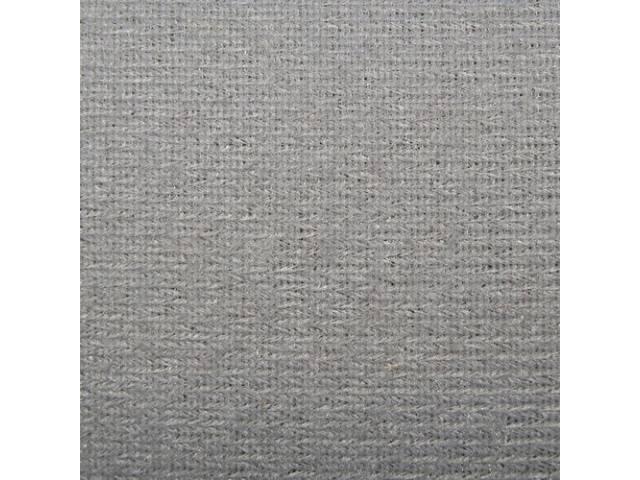 Headliner Cloth W/ Foam Backing Greystone Repro Use