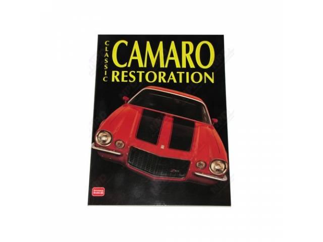Book Classic Camaro Restoration Softbound 172 Pages 8
