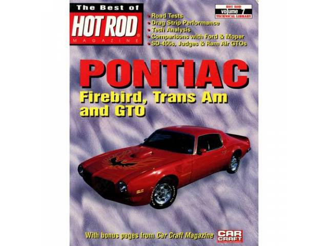 BOOK, Pontiac Firebird and Trans Am, Softbound, 128