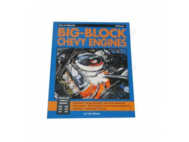 Book How To Rebuild Big Block Chevy Engines