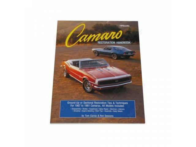 Book Camaro Restoration Handbook Softbound 192 Pages 550