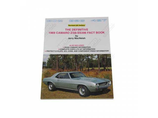 Book The Definitive 1969 Z/28 And Ss 396