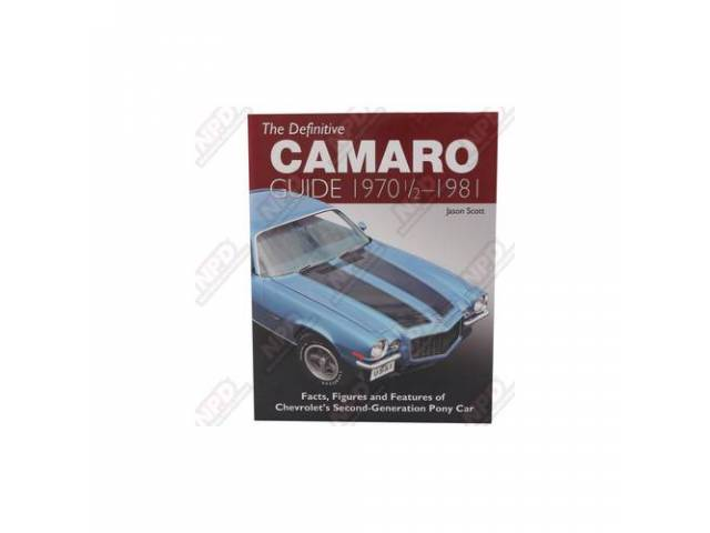 Book Definitive Camaro Guide 1970 1/2 - 1981