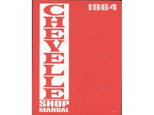 Book Chevelle Service Manual Repro