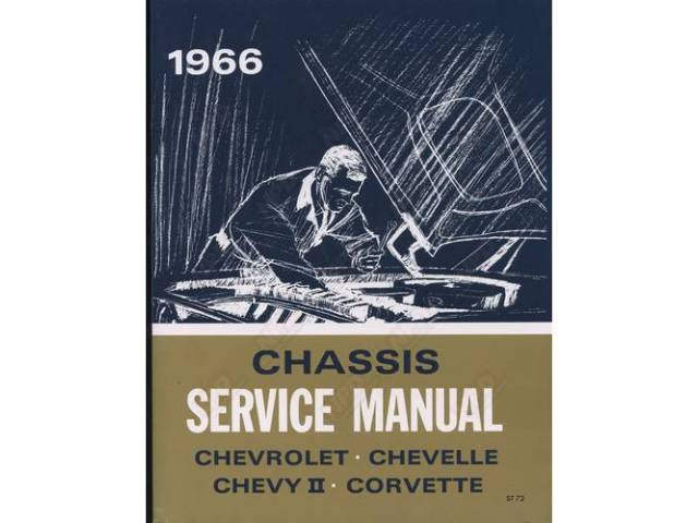 Book Chevrolet Service Manual Repro
