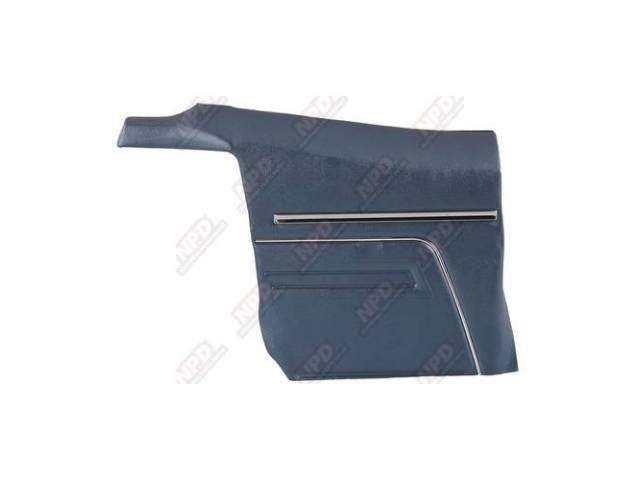 Panel Set Premium Inside Quarter Std Dark Blue