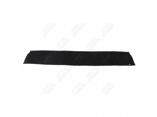 Dashmat Rear Package Tray Black