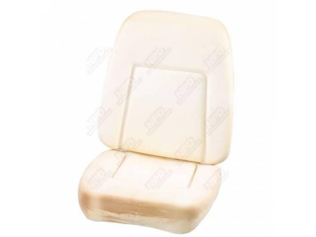 Seat Foam Bucket Dlx Repro