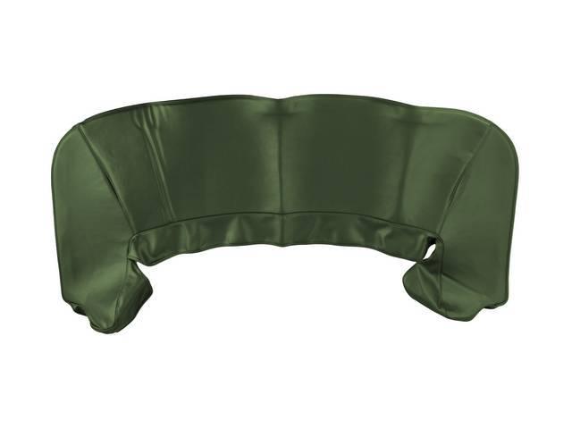 TOP BOOT, Replacement Style, Dark Green Metallic, features
