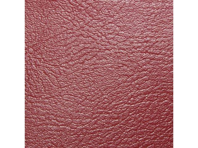 UPHOLSTERY, Front Bucket, Dlx, Red, RH, Madrid Grain