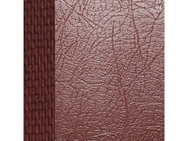 Upholstery Set Premium Front Buckets Dlx Carmine Sierra