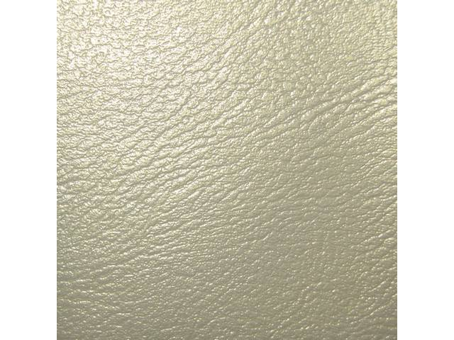 Upholstery Set Premium Front Buckets Dlx Metallic Parchment