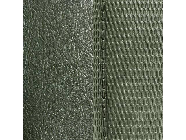 Upholstery Set Premium Front Buckets Dlx Dark Metallic