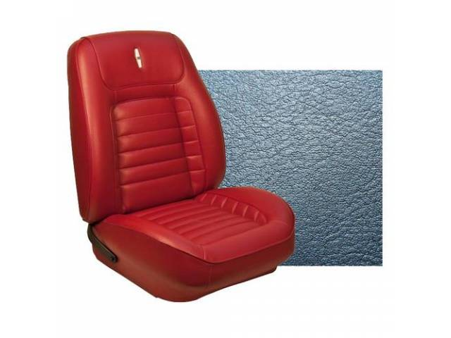 Upholstery Set Sport Seat Custom Front Buckets Dlx