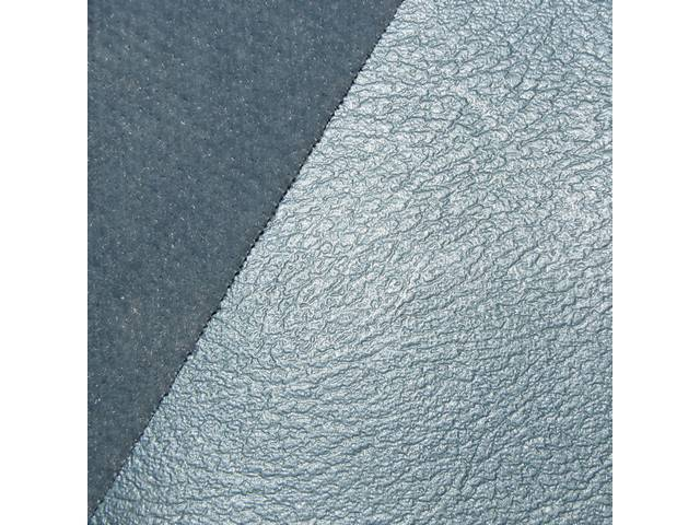 Upholstery Set Front And Rear Dlx Custom Cloth