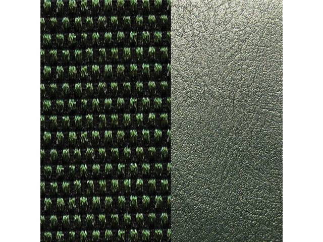 UPHOLSTERY SET, Premium, Front Buckets, Dlx Cloth, Green