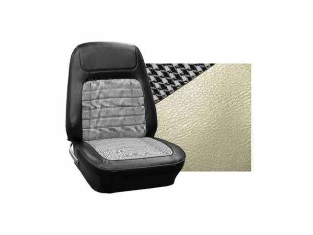 Upholstery Set Front And Rear W/ Bucket Fronts