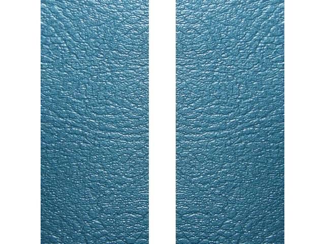 Upholstery Set Premium Rear Seat Dlx Bright Blue