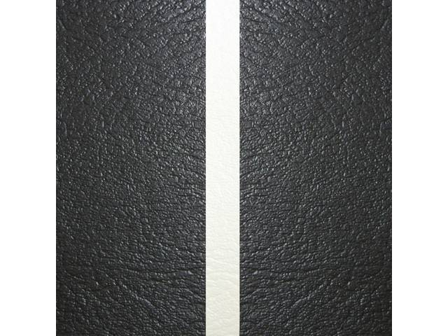 Upholstery Set Premium Rear Seat Dlx Black W/