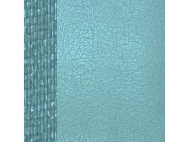 Upholstery Set Premium Rear Seat Dlx Light Blue